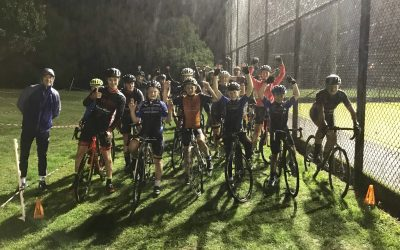 First Cyclo-Cross coaching session in the rain this season